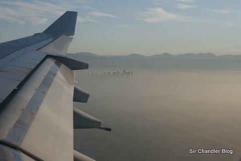 Los Ángeles desde el cielo