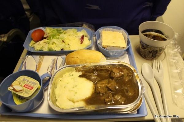 Cena en Aerolineas Argentinas