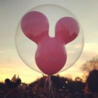 Globo de Mickey en Disney