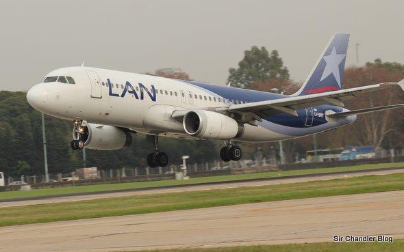 Airbus 320 de Lan Argentina