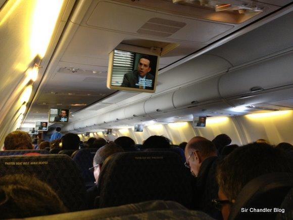 Cabina del 737 de American Airlines