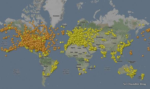 flightradar-mapa
