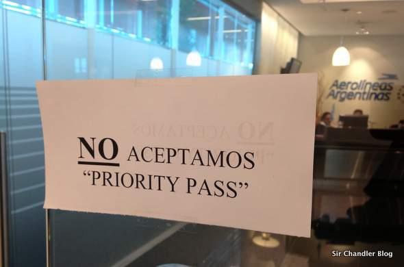 Confirmado que el sal n de aerol neas argentinas no acepta for Salon priority pass