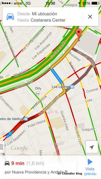 google-maps-chile
