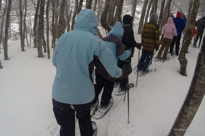 caminata-nieve