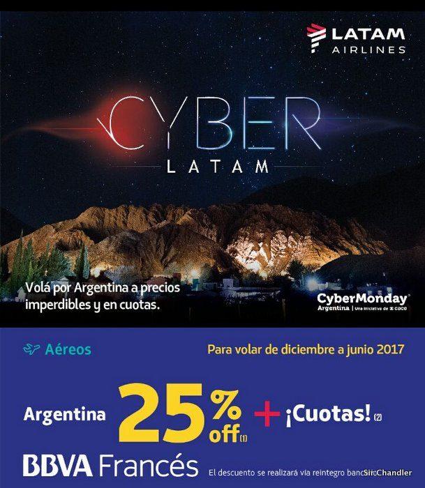 Cyber monday las ofertas de latam y latam pass Cyber monday 2016 argentina muebles