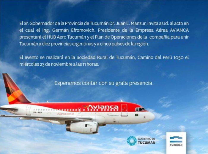 avianca-argentina-invitacion-hub-tucuman