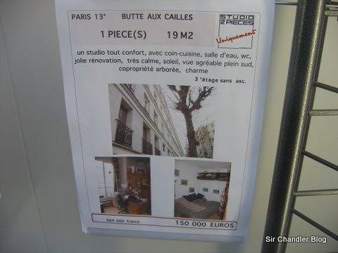 Yo quiero mi oficina en Paris
