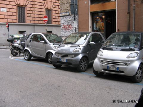 Auto mini europeo, el Smart