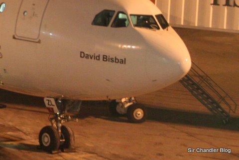 Nombre en avión de Air Europa…