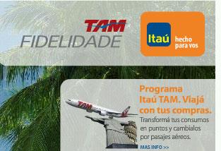 La tarjeta ITAÚ – TAM