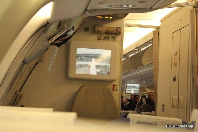 La camarita en la cola de un Airbus A340