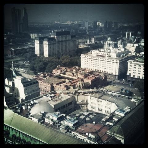 Buenos Aires desde un piso 26