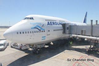 La publicidad de Aerolineas Argentinas