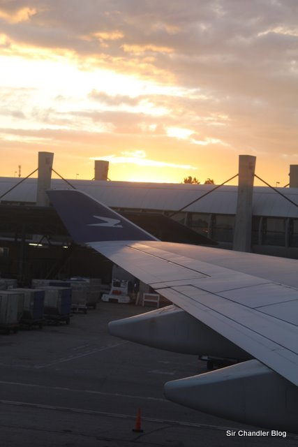 Volviendo de Madrid por Aerolineas y zafando de las cenizas