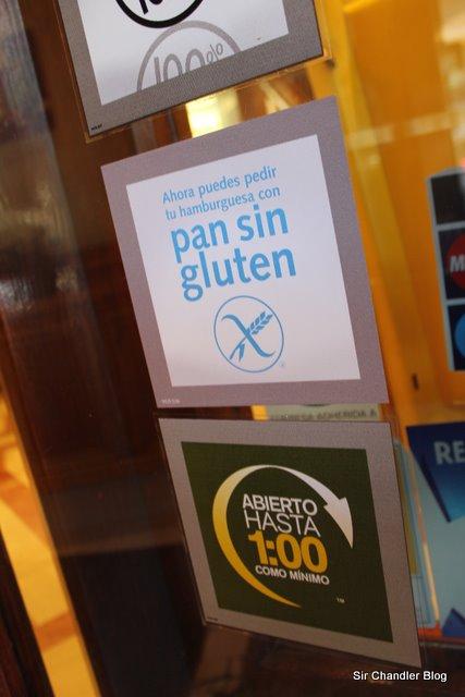 Pan sin gluten en los McDonald's de España