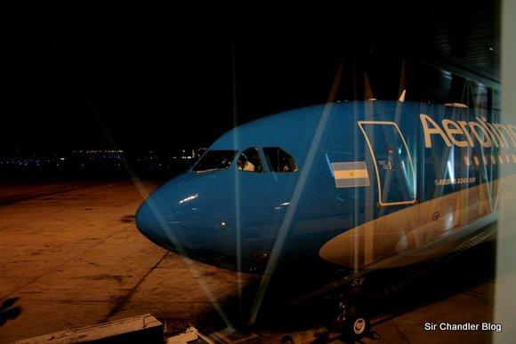 AR 1140 Ezeiza Roma en uno de los «nuevos» A340