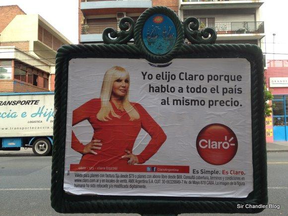 Susana se ahorra unos mangos con Claro