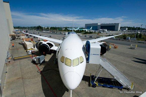 Lan va mostrando su Boeing 787