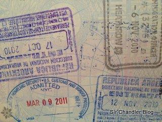 Pasaporte recibido en 15 días
