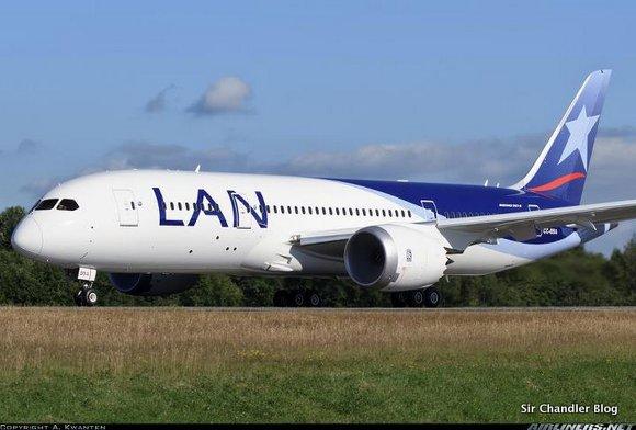 Video de LAN sobre el 787