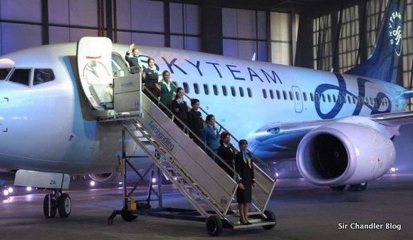 La formalización del ingreso de Aerolíneas Argentinas a Skyteam