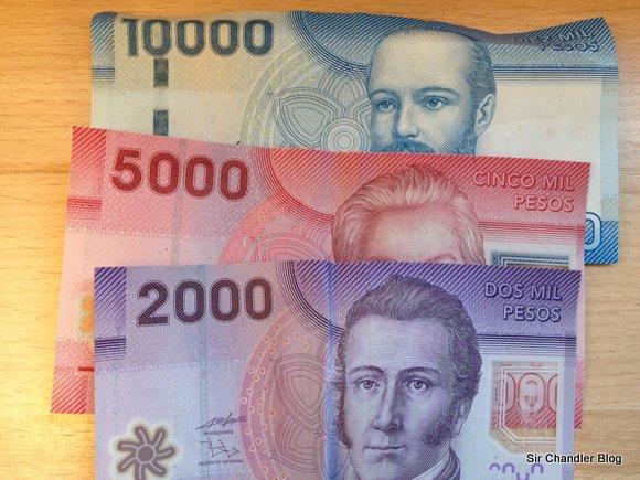 Intentando comprar pesos chilenos y morir en el intento