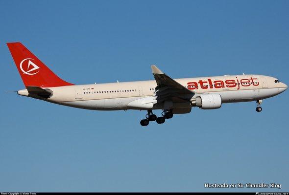 Primer Airbus 330 de Aerolíneas Argentinas en camino a pintura