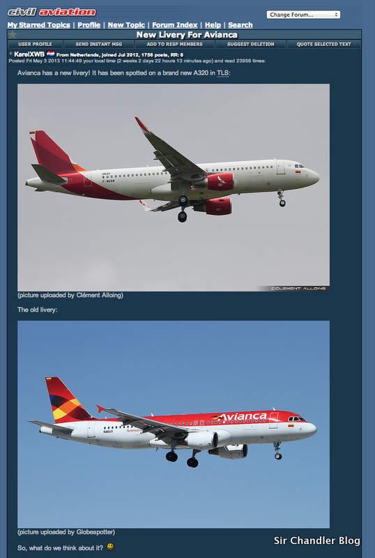Avianca cambia sus colores