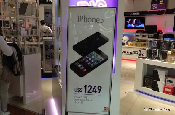 ¡Bajó el iPhone en Ezeiza! Ahora el 5 cuesta 50 USD menos!