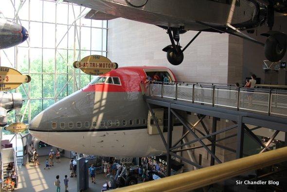 Conociendo los aviones del Smithsonian, el museo más grande del mundo