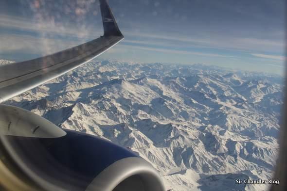 Regreso desde Chile en Aerolíneas Argentinas. Crónica del vuelo