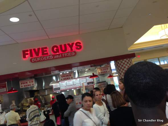 Five Guys: buenas hamburguesas