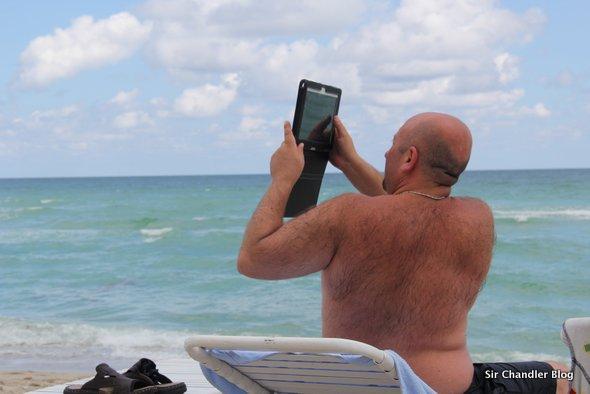 La publicidad del iPad Air (donde no toman fotos)