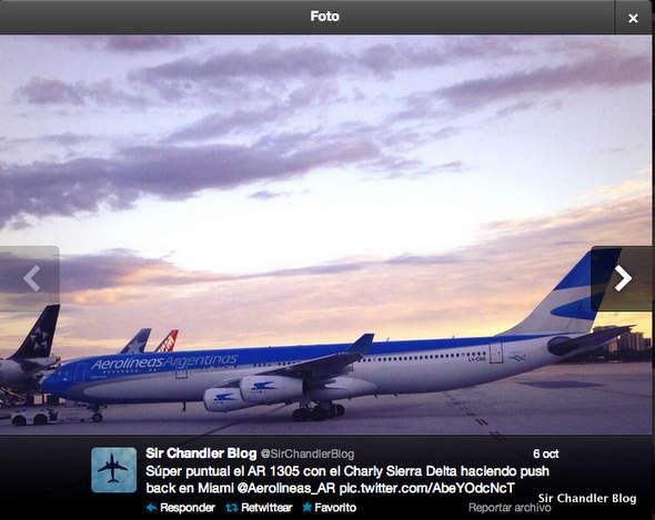 airbus-340-miami-tweet