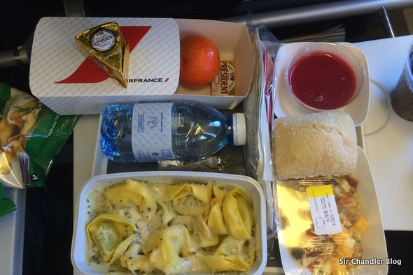 air-france-comida