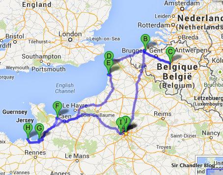 Arrancando el viaje de la oferta loca de Delta a París