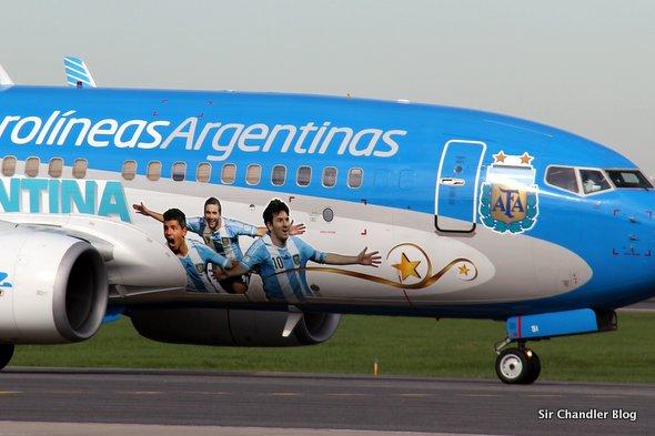 Aerolíneas Argentinas suma 10 vuelos a San Pablo para la semifinal del 9 de julio