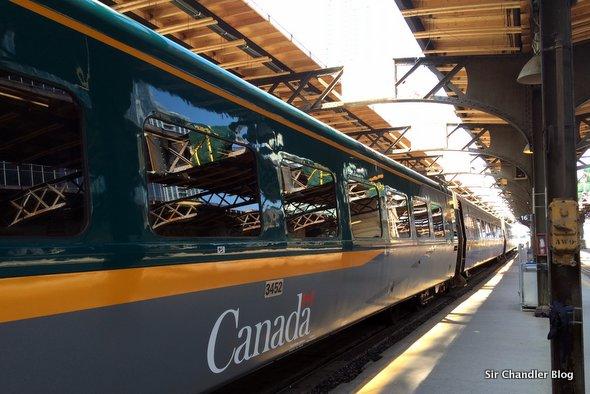 Viaje En Tren De Montreal A Toronto Sir Chandler