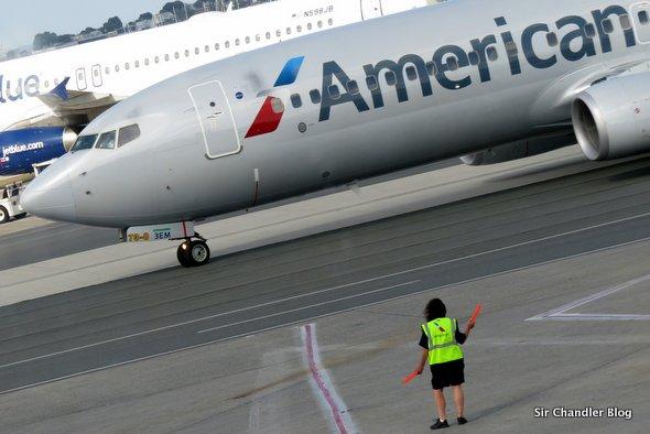 De Bostón a Nueva York. Crónica de vuelo por American Airlines