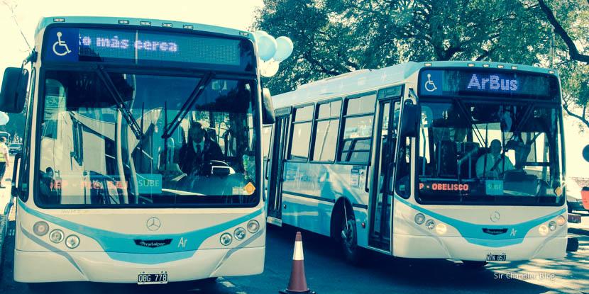 El ARBUS arranca con el servicio entre AEP y EZE para cualquier pasajero