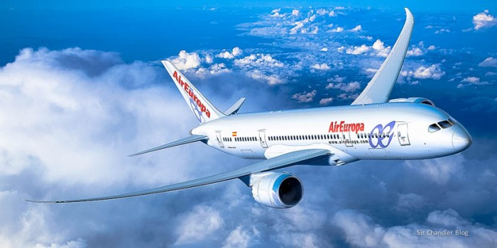 Air Europa 787-8 artwork
