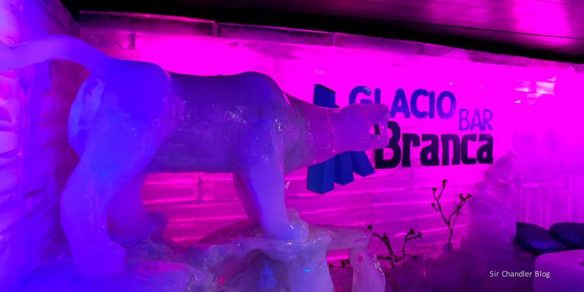 Glaciarium y el bar de hielo de El Calafate