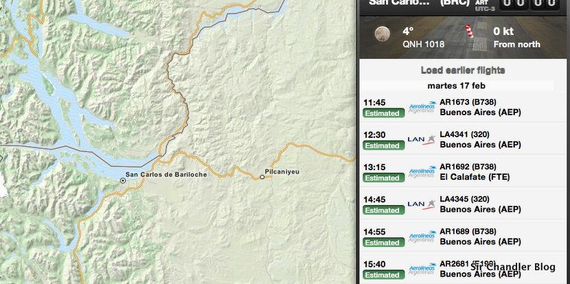 Bariloche tiene su receptor de Flightradar24 :)