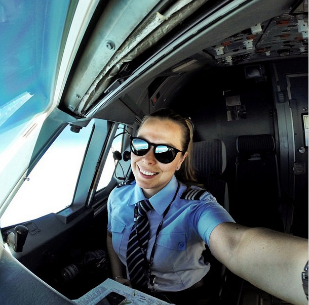 selfie-piloto