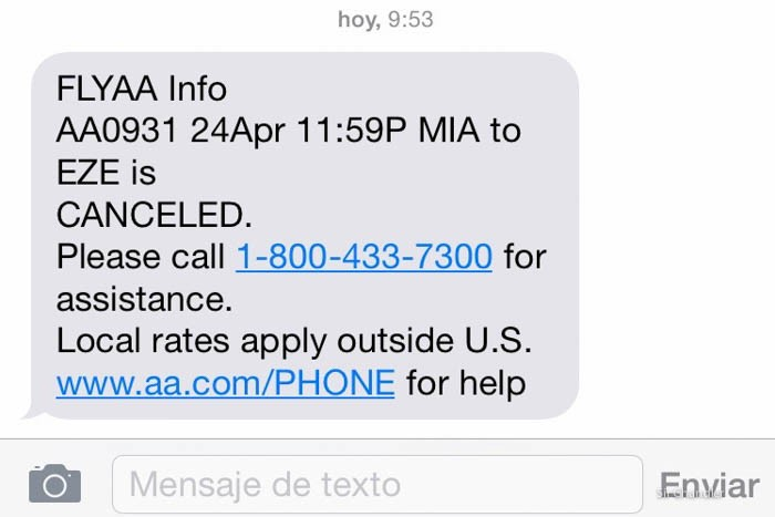 0-sms-american-airlines