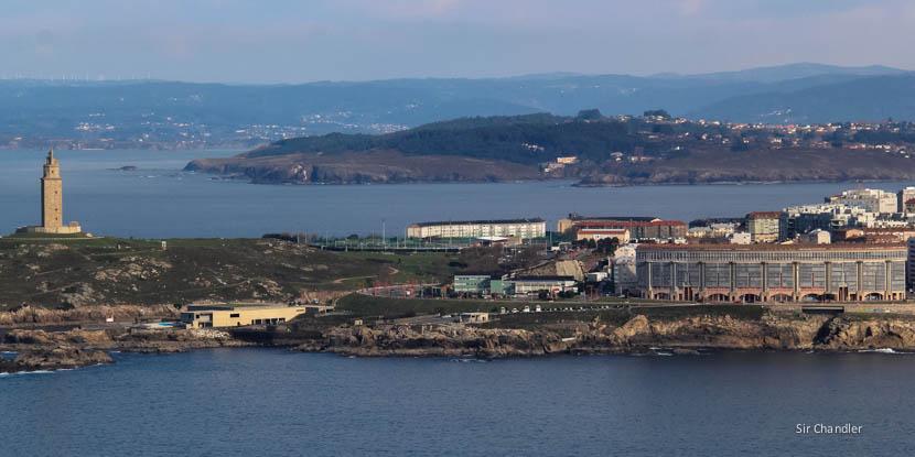 Postales de La Coruña