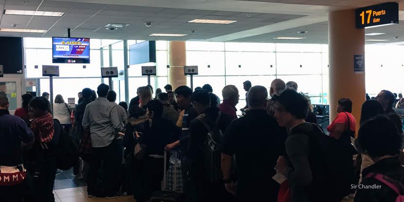 Volviendo de Las Vegas (III/III) LIM EZE con Lan Perú
