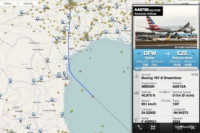 flightradar-american-787