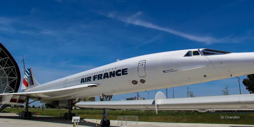 El museo de la aviación de Toulouse (junto a la fábrica de Airbus)